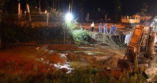 Bể ống nước, gần 400 hộ dân thiếu nước sạch