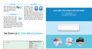 Catalogue may lanh daikin dong FT FTE 2013