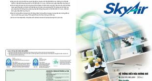Catalogue may lanh Daikin Skyair loai chi lam lanh dong san pham PU