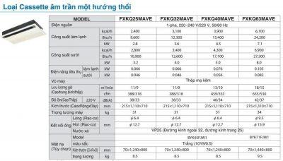FXKQ Spec - HVAC Vietnam