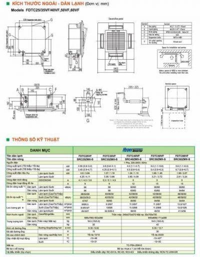 Mitsubishi schwere 2-Ton-Zylindermaschine FDTC.2 - HVAC Vietnam
