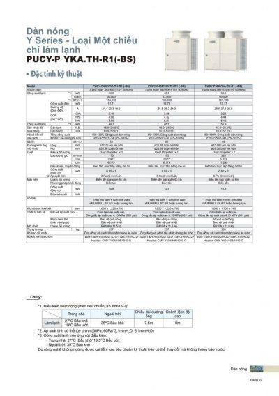 mitsubishi city multi pucy p400yka bs - usine HVAC au Vietnam