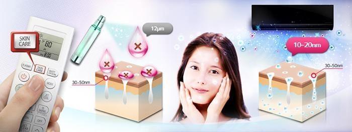 may lanh treo tuong LG - van hanh cho da kho