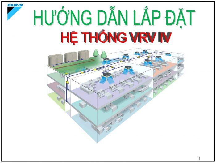 huong dan lap dat may lanh trung tam daikin vrv iv - HVAC Việt Nam