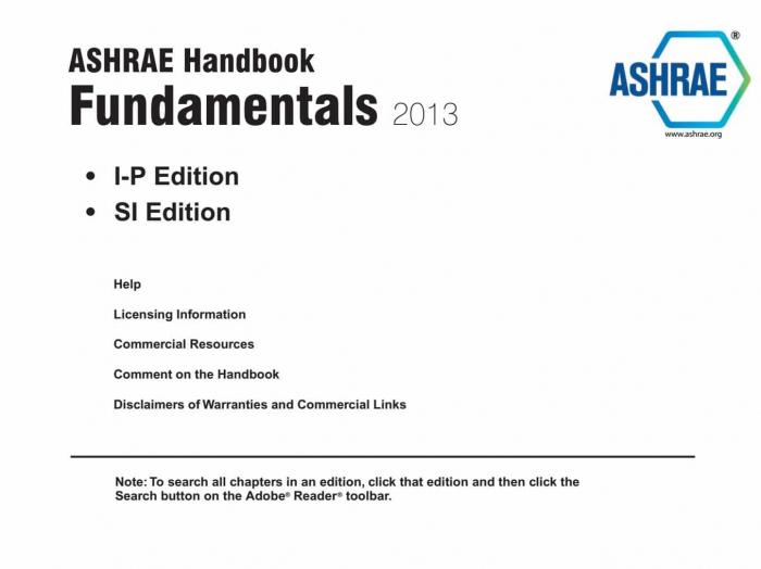 2013 ashrae handbuch grundlagen ip si - HLK Vietnam