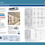 Katalog der Daikin Central Air Conditioner VRV A (2018)