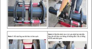 Hướng dẫn lắp đặt đường ống HDPE