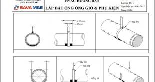 Hướng dẫn lắp đặt ống gió & phụ kiện