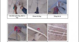 Hướng dẫn lắp đặt ống luồn dây điện và phụ kiện