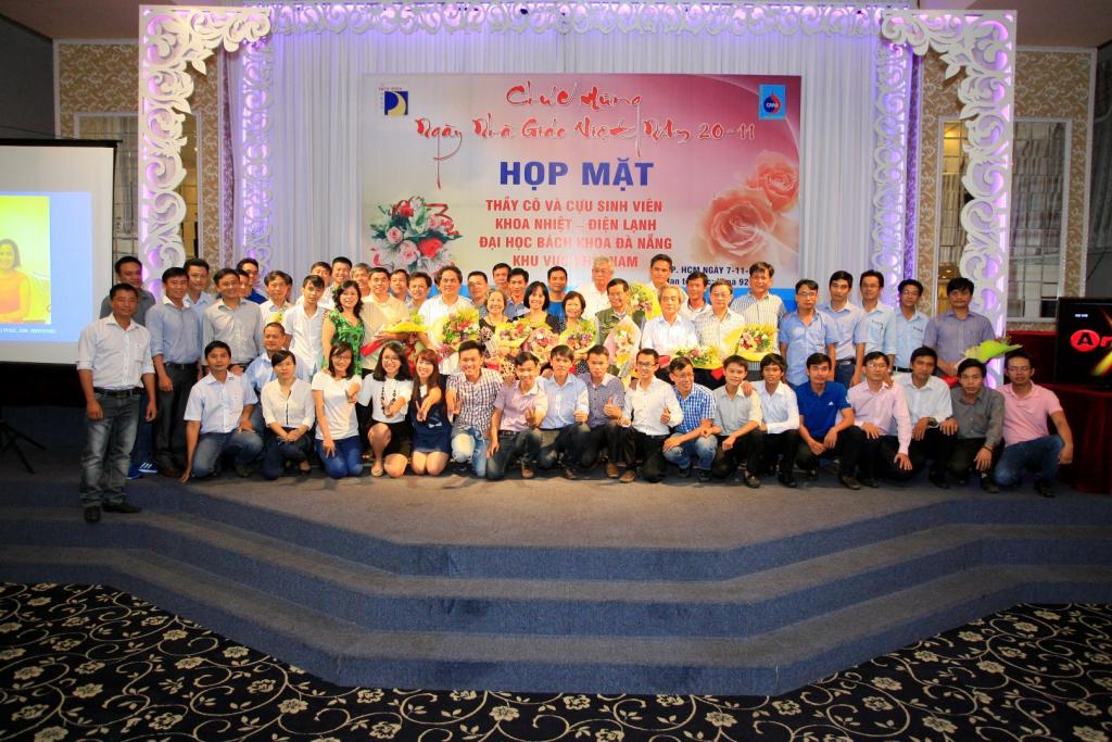 hop mat cuu sv khoa nhiet dien lanh dhbk da nang 2018 tai tp.hcm 2 - HVAC Việt Nam