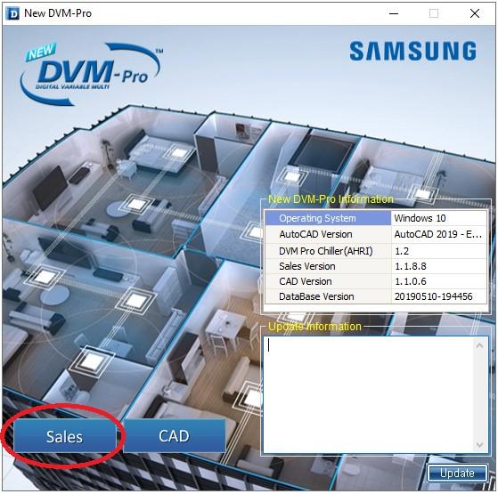 samsung dvm pro sale mode phan mem tinh toan thiet ke - HVAC Việt Nam