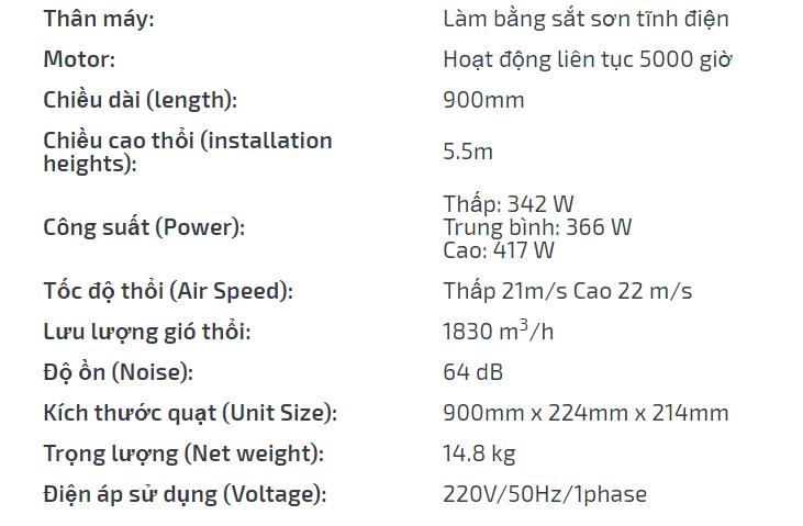 quat chan gio nafuji fm 5509c 2y - HVAC Việt Nam