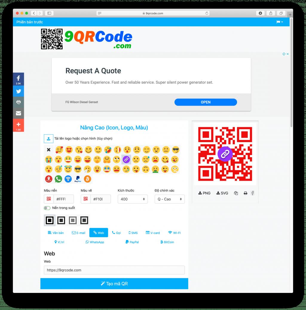 Erstellen Sie einen Code im Internet ohne Logo-Farbe - HVAC Vietnam